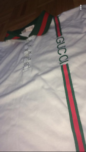 Whitpolo/Gucci excellentcondition sizeXL but feels like a medium
