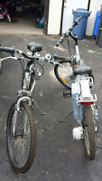ELECTRIC MOUNTIAN BIKES (BARELY USED)