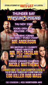 Front Row Tickets to wrestling Supercard