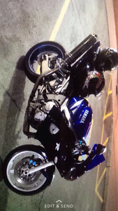 2001 yamaha r6 with extras
