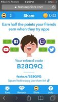 50 free points with referral code