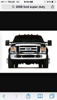 Ford super duty bumpers