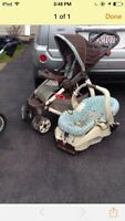 Stroller and Car seat.