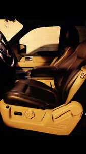 Heated Brown Leather Seats for 2011  f150 super crew truck
