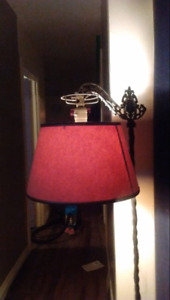 Beautiful antique iron lamp