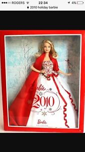 Looking for 2010 Holiday Barbie