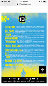 Quebec City Summer Festival Tickets