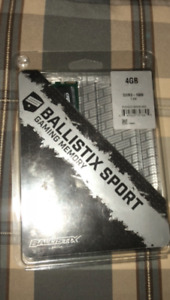 Ballistix DDR3 gaming memory 4gb