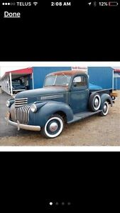 1941 to 1947 Chev truck hood