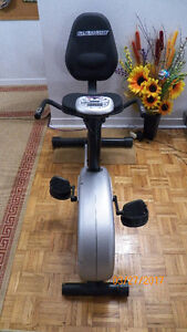 Fitness club JMC-4905 platinum recumbent cycle exercise bike