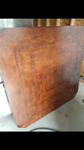 Square/round dinning table and chairs