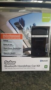 Hands Free IOGEAR Solar Freeway Car Kit GBHFK231