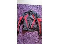Milano leather bike jacket medium