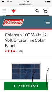 Rv Panneau solaire