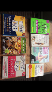 Diet and exercise books