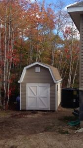 Custom built baby barns/sheds built on site in 1 day
