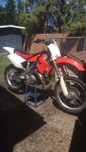 2001 cr 250. Looking to maybe trade for another 250 2 stroke