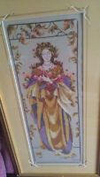 BEAUTIFUL HANDMADE CROSS STITCH PICTURES FOR SALE