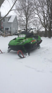 2001 zr800 Arctic cat snowmobile sled