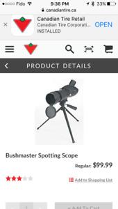 Bushmaster spotter 20-60x60