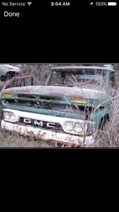 Wanted: 1964-66 GMC parts truck