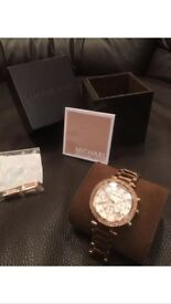 Gorgeous rose gold Micheal Kors watch only £65 paid £239.99 for it