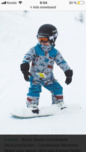 Looking for kids snowboard