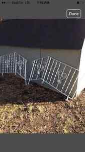 $50 for both! Steel stair rails!