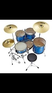 Network percussion drum kit