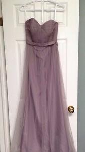 Grey Bridesmaid Dress