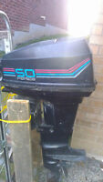 "''Force"" outboard motor 50 hp"