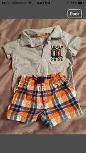 Summer/sleepers  clothes for boys