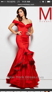 Red ballroom gown London Ontario image 2