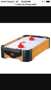 Air hockey table really good condition.