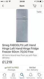 SMEG FAB30 fridge