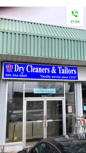 Dry cleaning business for sale!