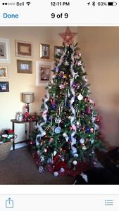 7FT Christmas tree  Edmonton Edmonton Area image 1