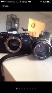 Minolta x700 film SLR camera (needs to go)