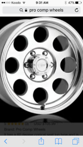 Wanted truck rims
