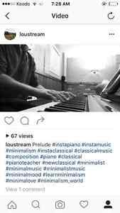 Piano Lessons 25$