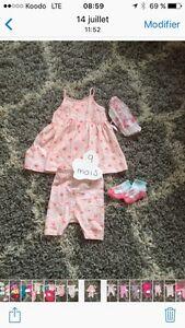 Vêtements bébé fille de 3 A 12m souris mini Saguenay Saguenay-Lac-Saint-Jean image 2