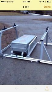 Truck rack and tool box
