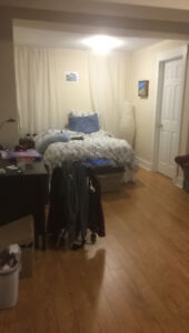 summer sublet in two bedroom unit right across from dalhousie