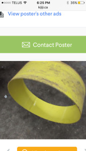 "Wanted 38"" tractor rim spacer ?"