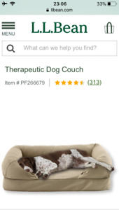 Free LL Bean Dog Couch Cover