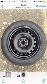 "Spare wheel 16"" 205/55 R16"