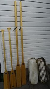 Paddles, Oars, and Boat bumpers
