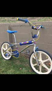 Looking for BMX bikes or frames from 80's