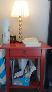 2 HEMNES Nightstands for sale