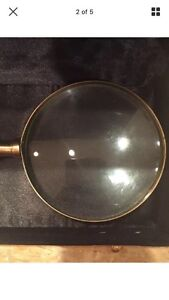 1920's Art Deco Magnifying glass with original box Cornwall Ontario image 2